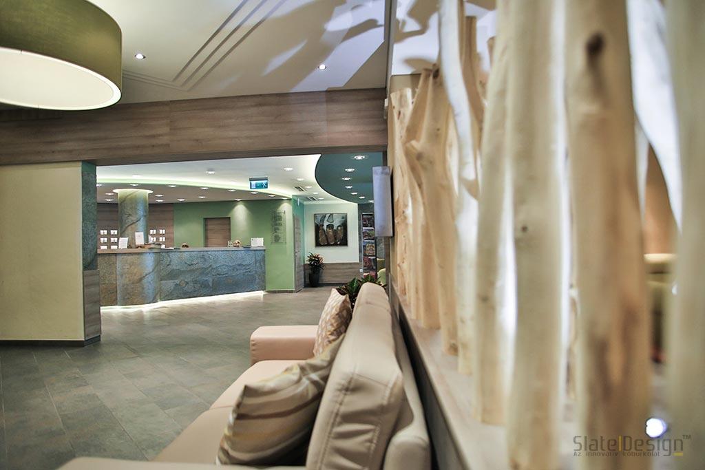 Ferien Hotel - Kőburkolat, falburkolat