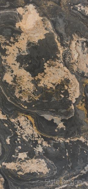 Rustic átvilágítható kőfurnér