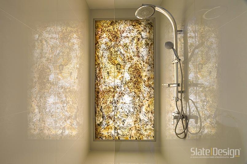 kőburkolat fürdőszobába