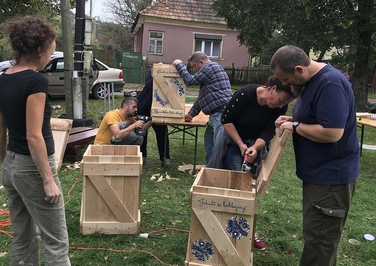 önkéntes projekt támogatása